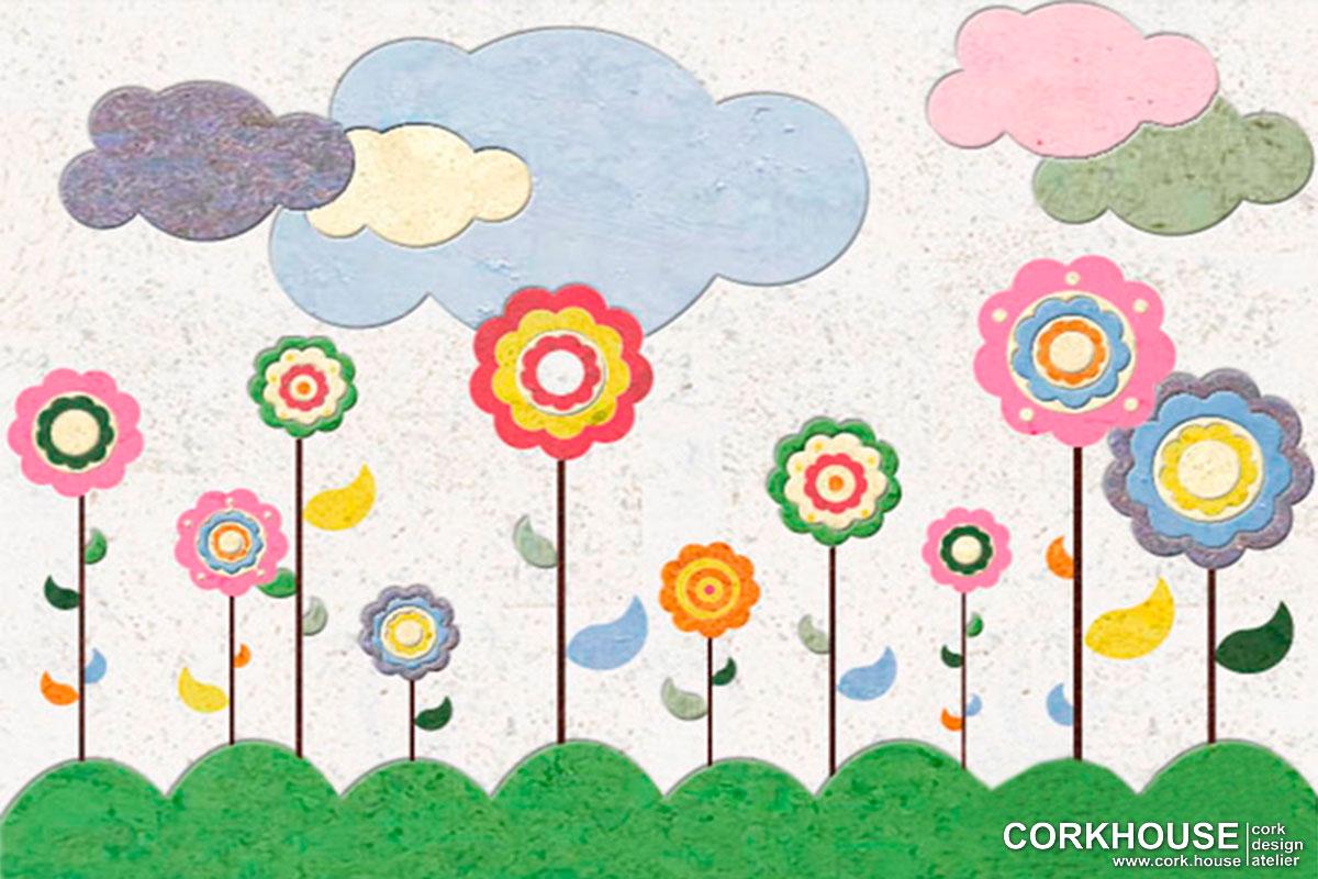"""Flowerbed"" техника - Мозаика"