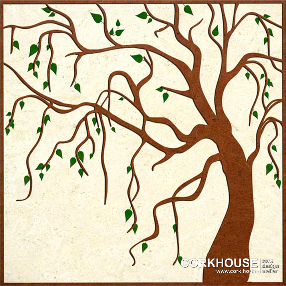 """Tree"" техника - Мозаика"