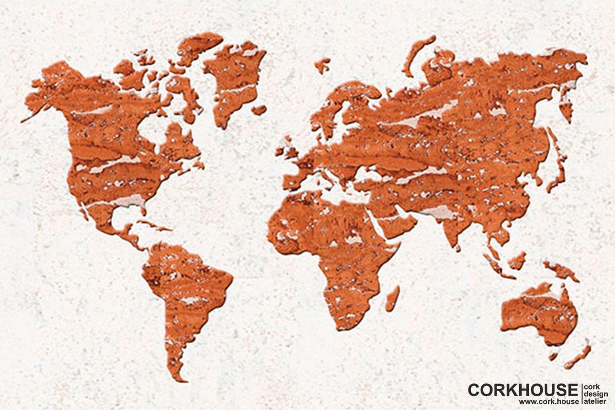 """Worldmap"" техника - Мозаика"