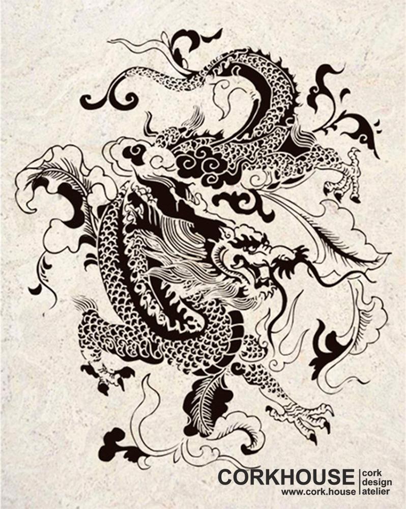 """Dragon"" техника - Принт"