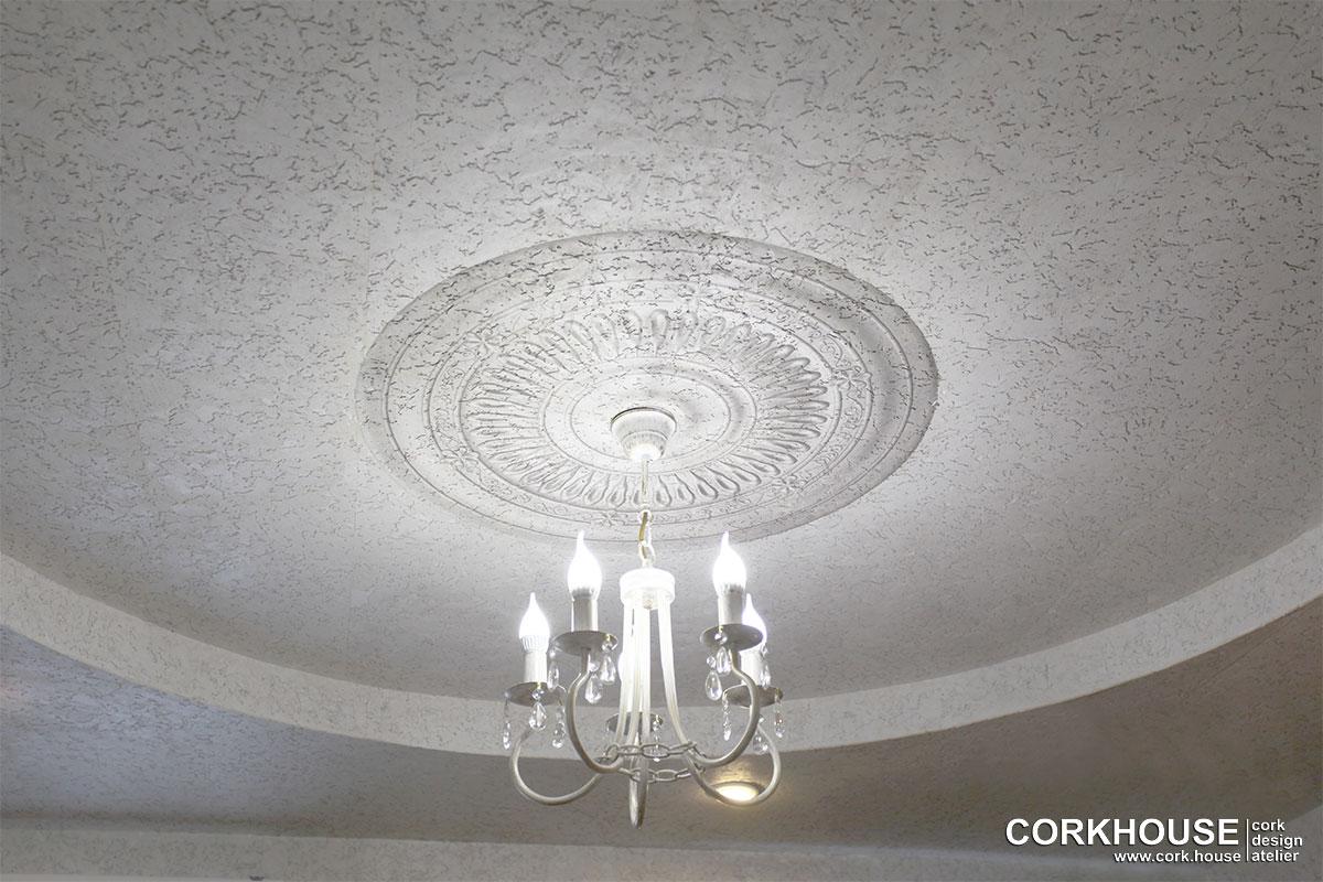 розетка на потолке