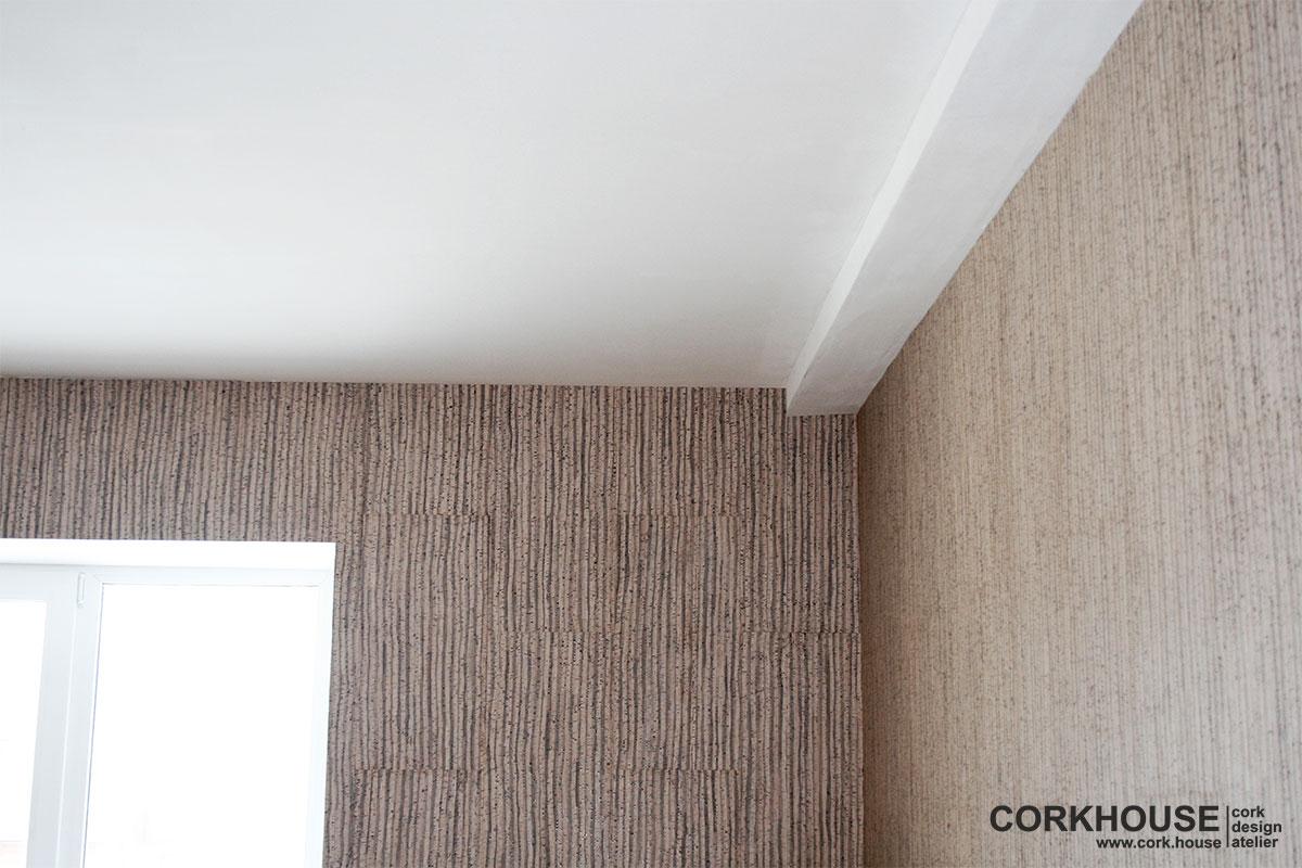 пробка для стен и потолков
