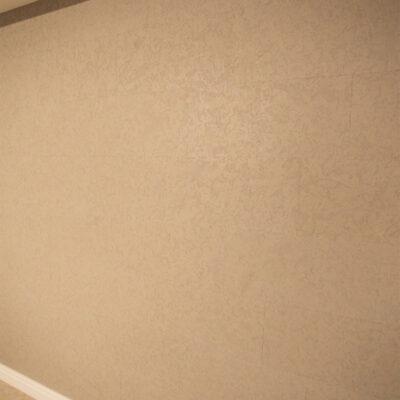 стеновая пробка в бежевых тонах в квартире