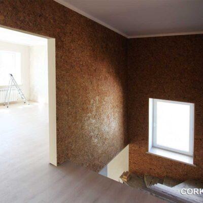 стеновая клеевая пробка