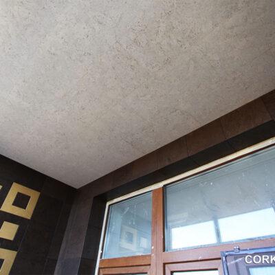 дизайн балкона пробкой