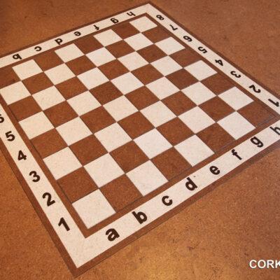 пробковая шахматная доска