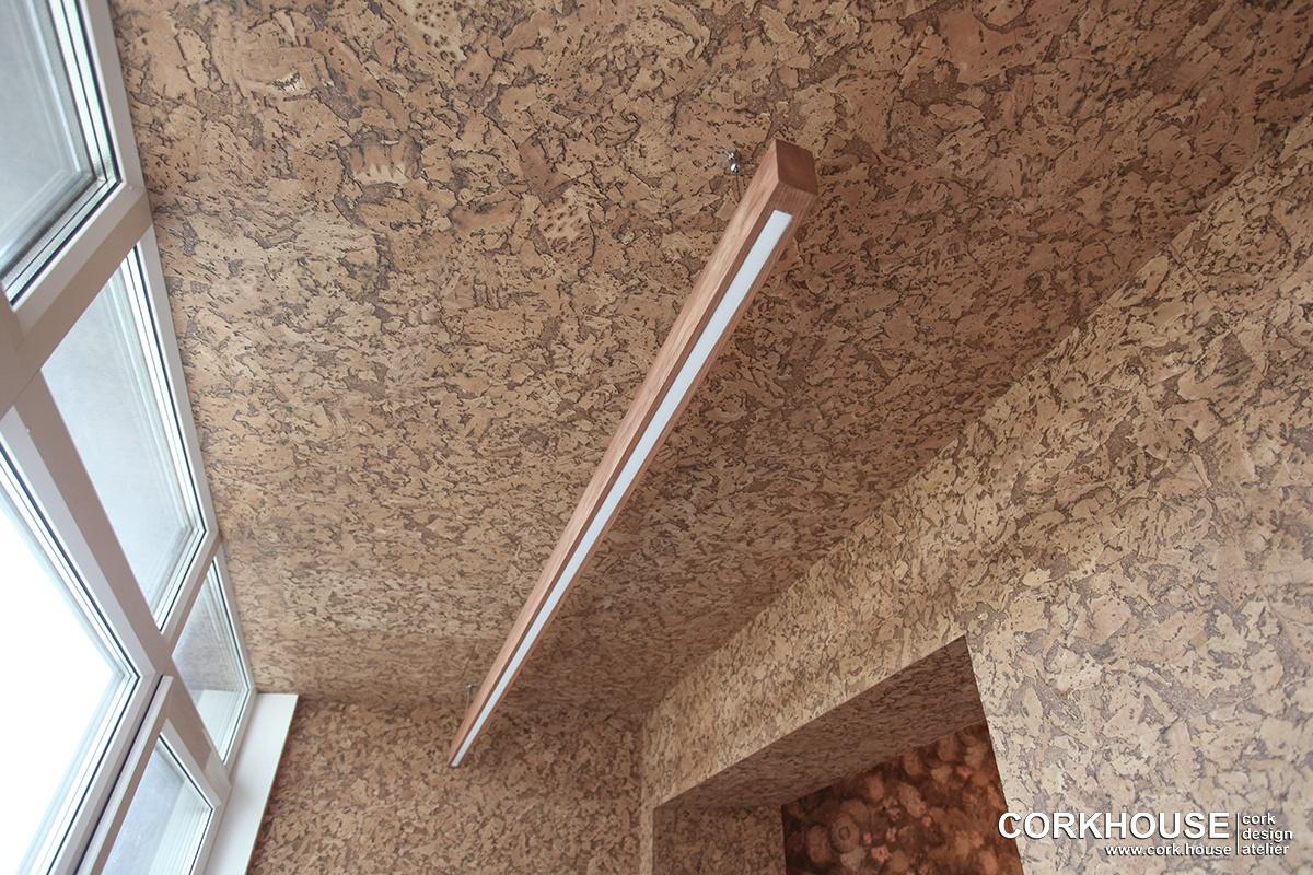 пробка на потолок